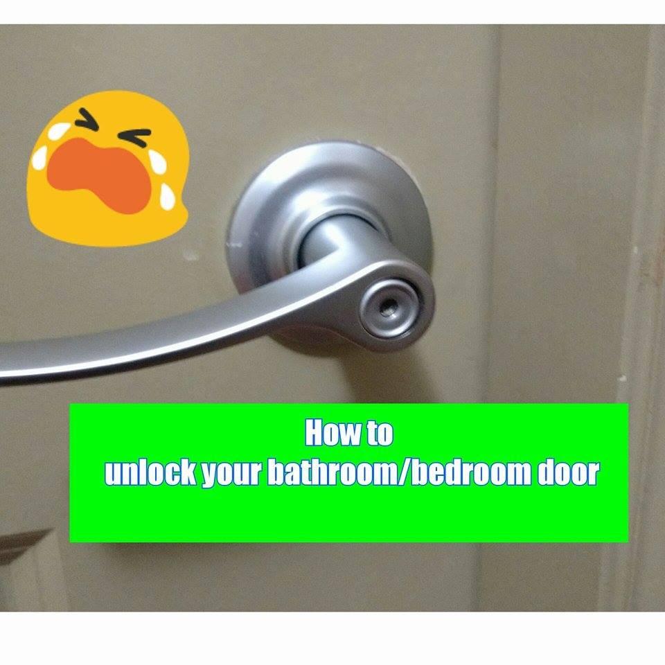 unlock door knob without key photo - 9