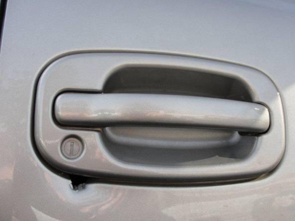 unlocking door knob with hole photo - 6