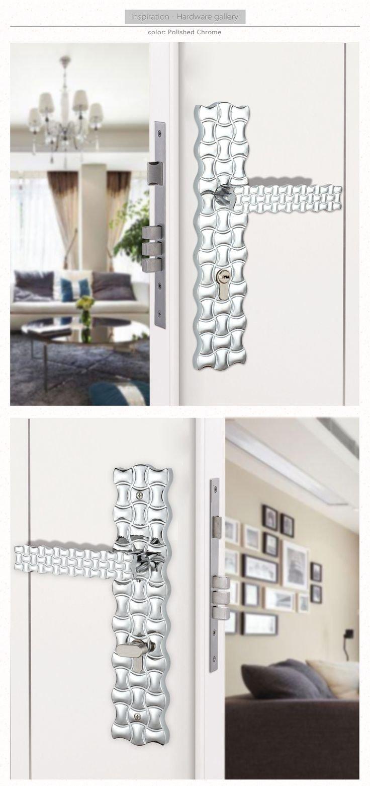 unlocking door knob with hole photo - 9