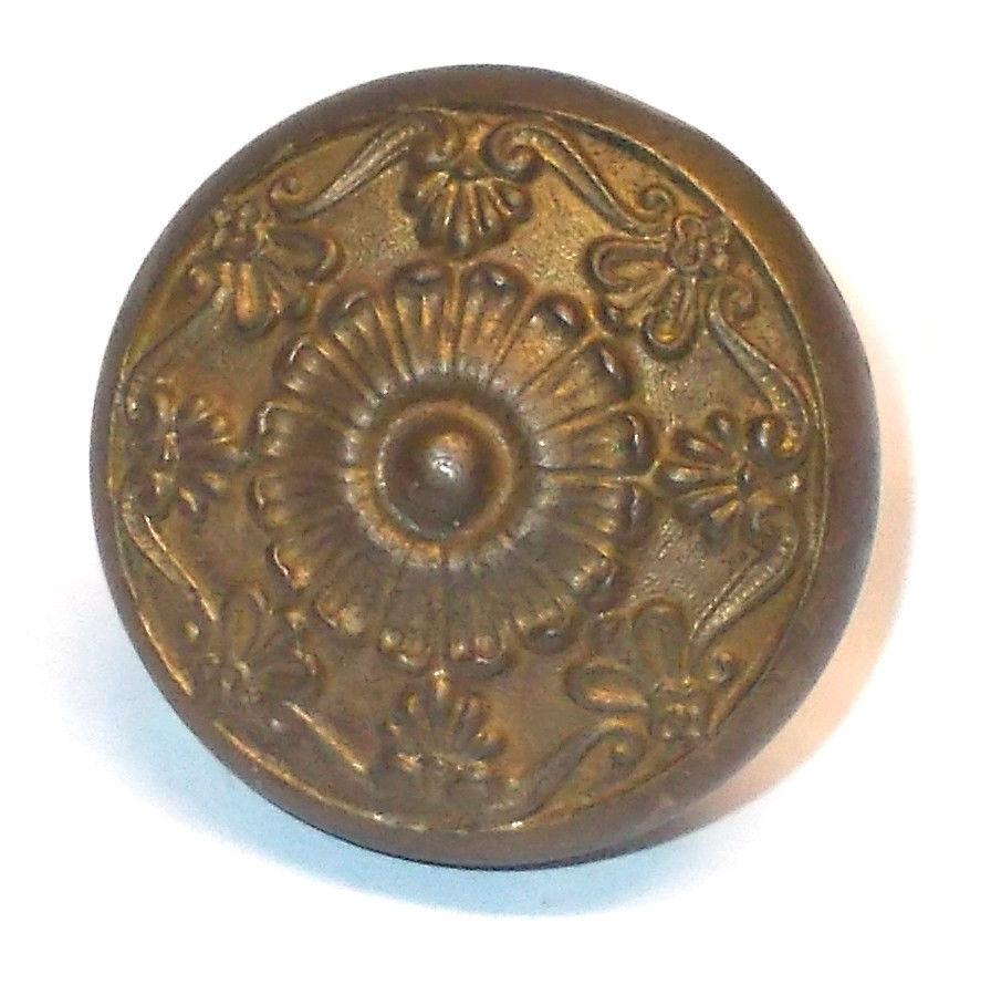 victorian brass door knobs photo - 11