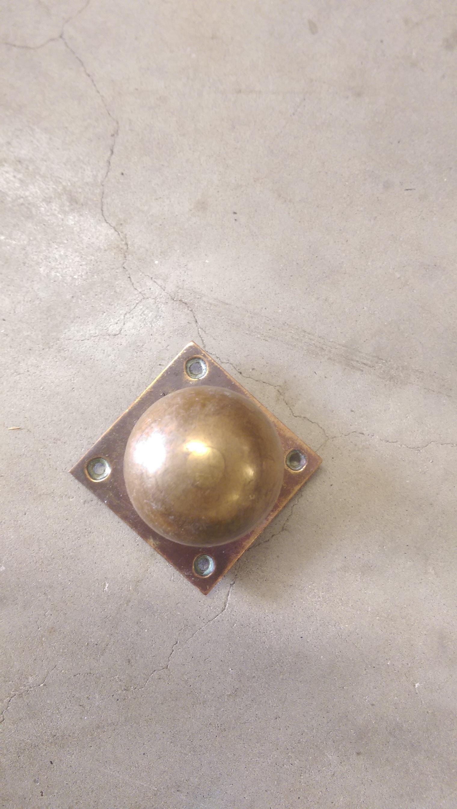 victorian brass door knobs photo - 13