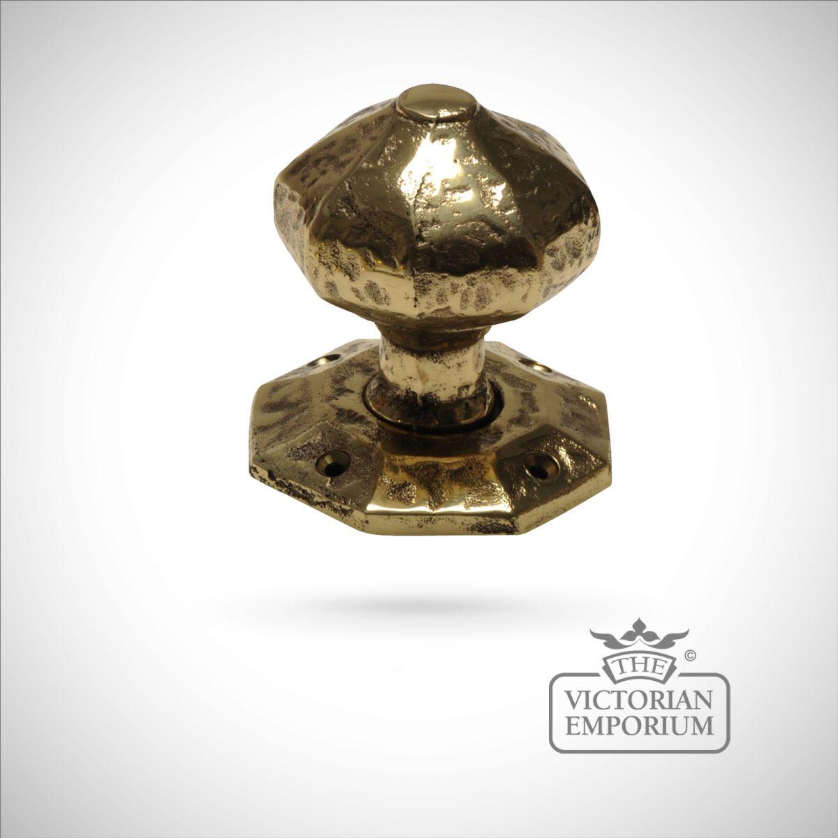 victorian brass door knobs photo - 20