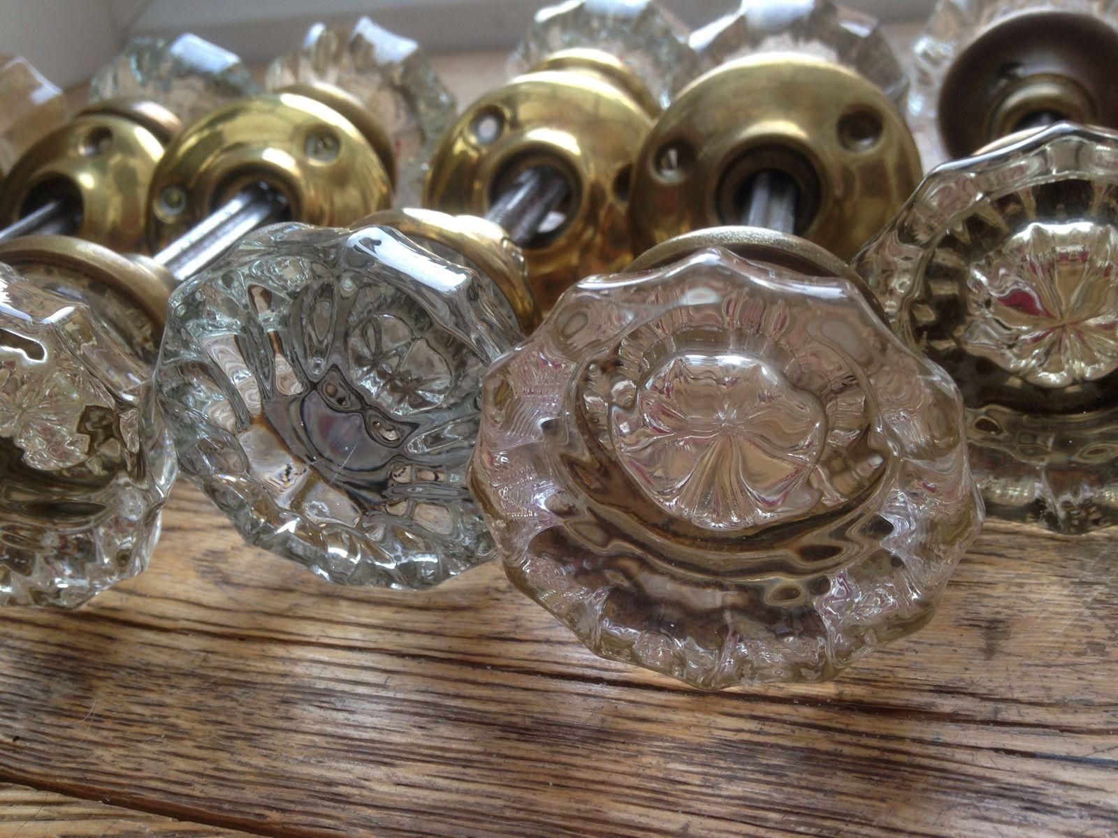 victorian glass door knobs photo - 11