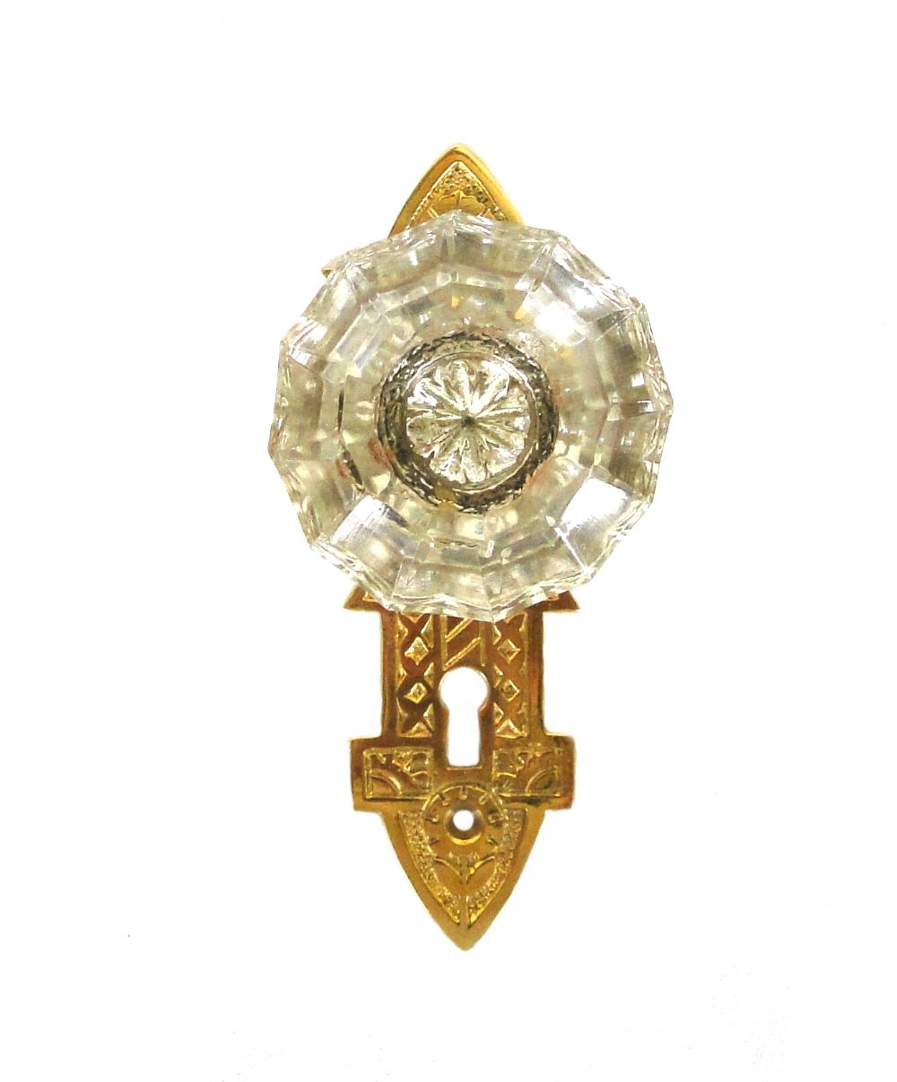 victorian glass door knobs photo - 13