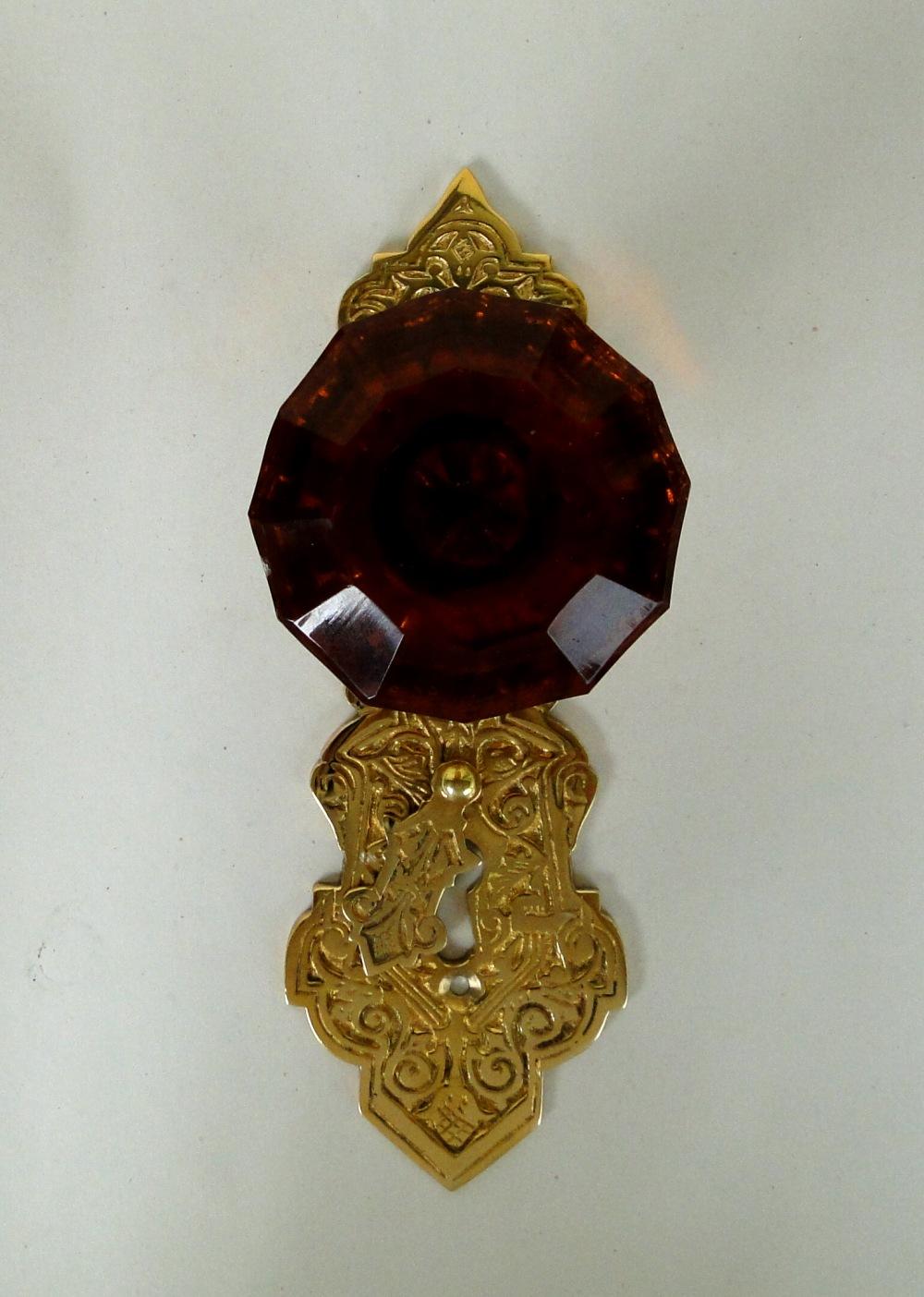 victorian glass door knobs photo - 15