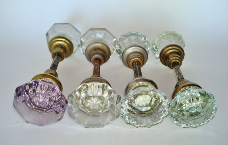 victorian glass door knobs photo - 17