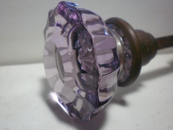 victorian glass door knobs photo - 18