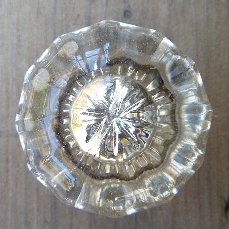 victorian glass door knobs photo - 6