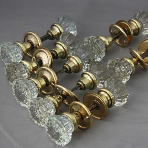 victorian glass door knobs photo - 7