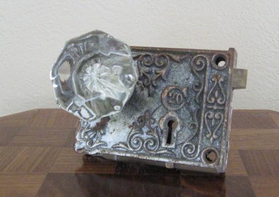 victorian glass door knobs photo - 8