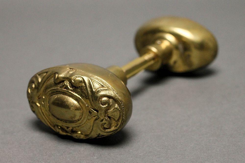 victorian style door knobs photo - 6