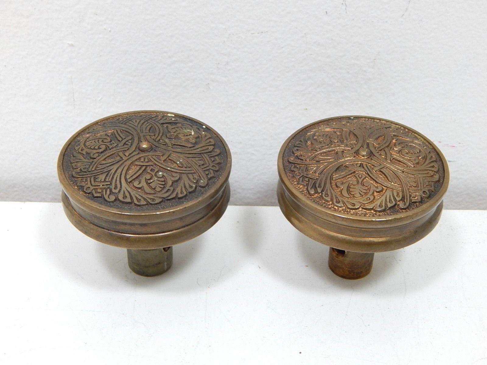 vintage brass door knobs photo - 15