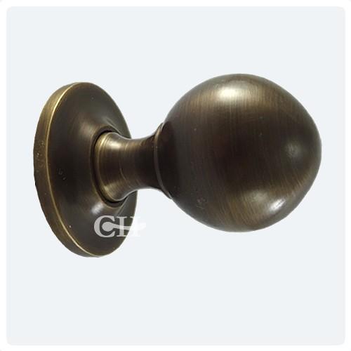 vintage brass door knobs photo - 19