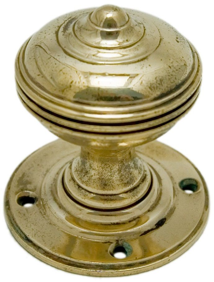 vintage brass door knobs photo - 4