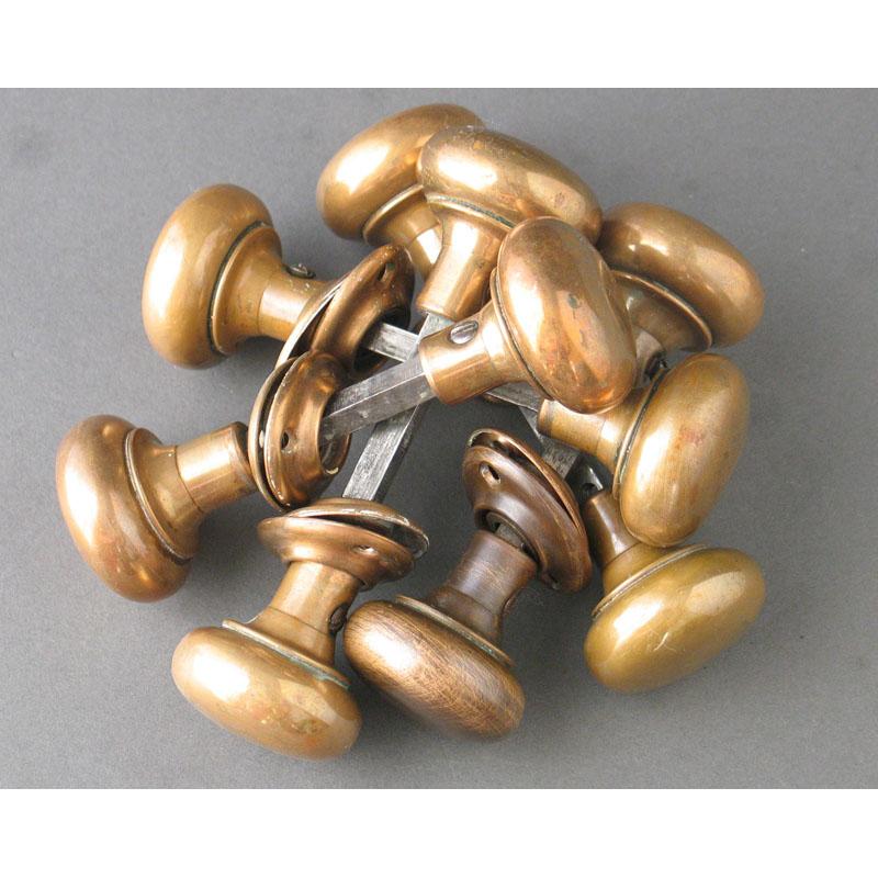 vintage brass door knobs photo - 8