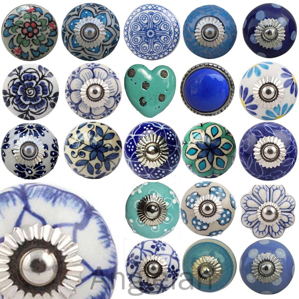 vintage ceramic door knobs photo - 4