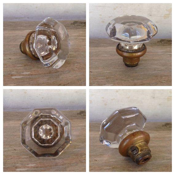 vintage crystal door knobs photo - 15