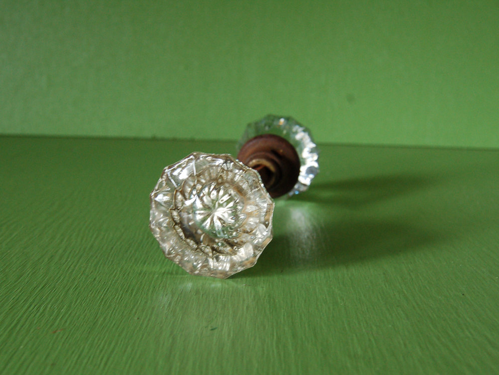 vintage crystal door knobs photo - 19