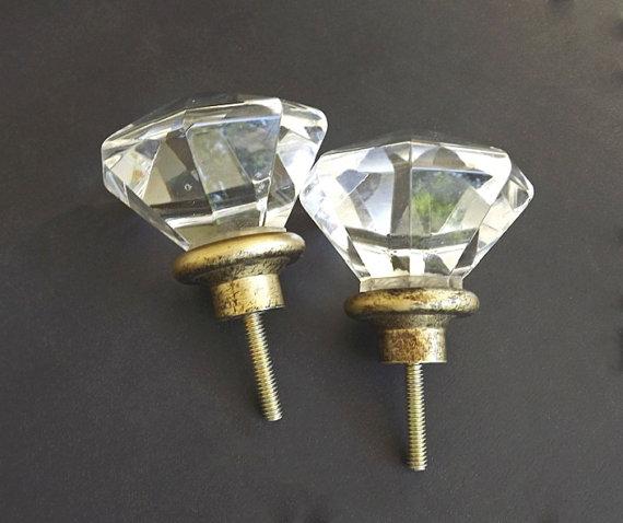 vintage crystal door knobs photo - 20
