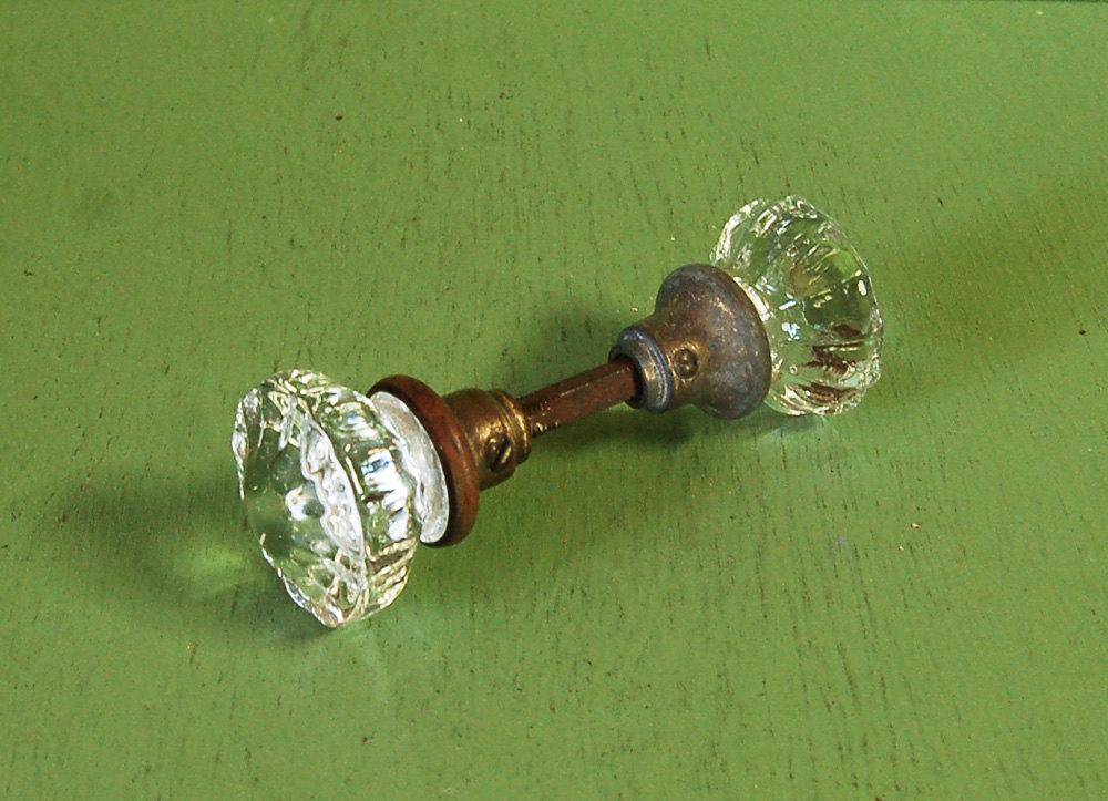 vintage crystal door knobs photo - 3