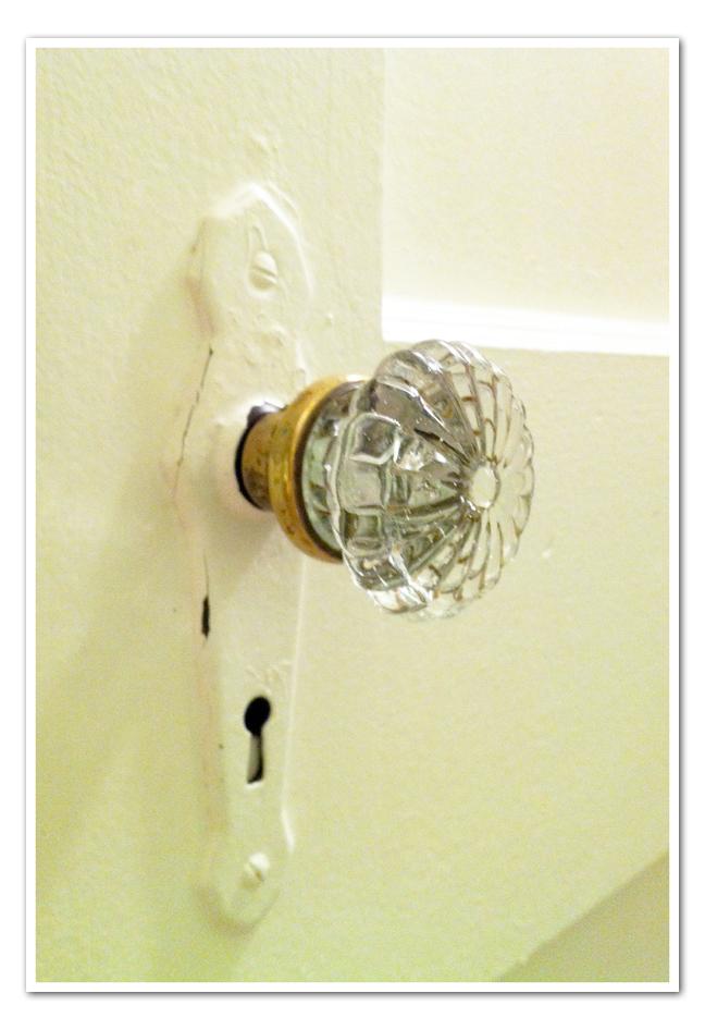 vintage crystal door knobs photo - 9