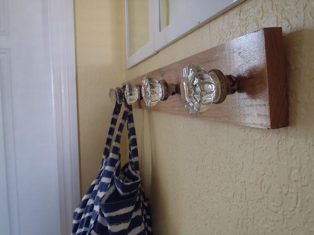 vintage door knob coat rack photo - 6
