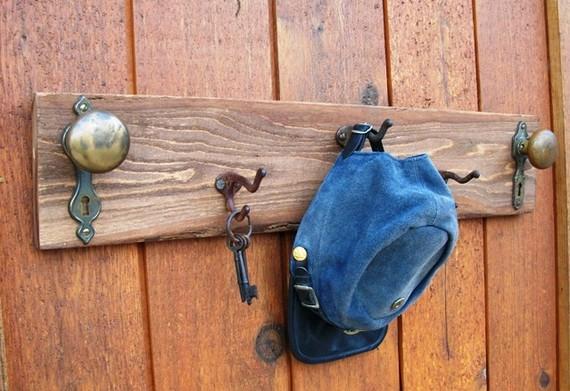 vintage door knob hooks photo - 13