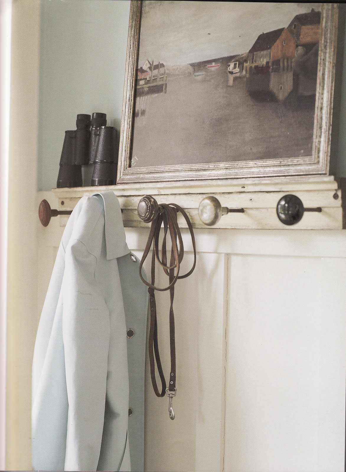 vintage door knob hooks photo - 3