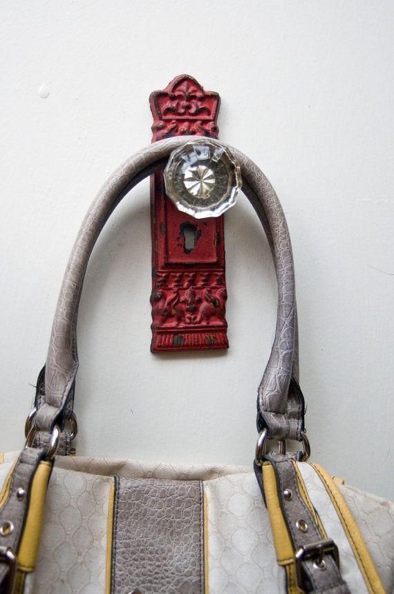 vintage door knob hooks photo - 5