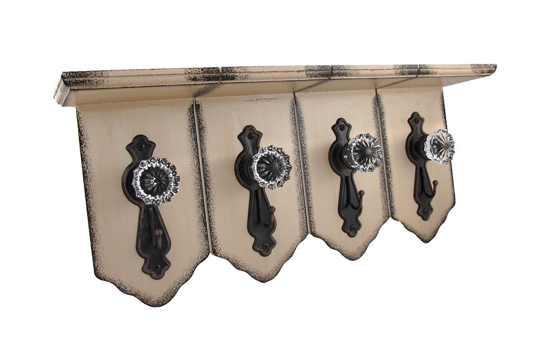 vintage door knob hooks photo - 6