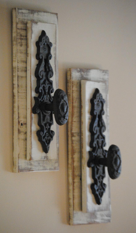 vintage door knob hooks photo - 7