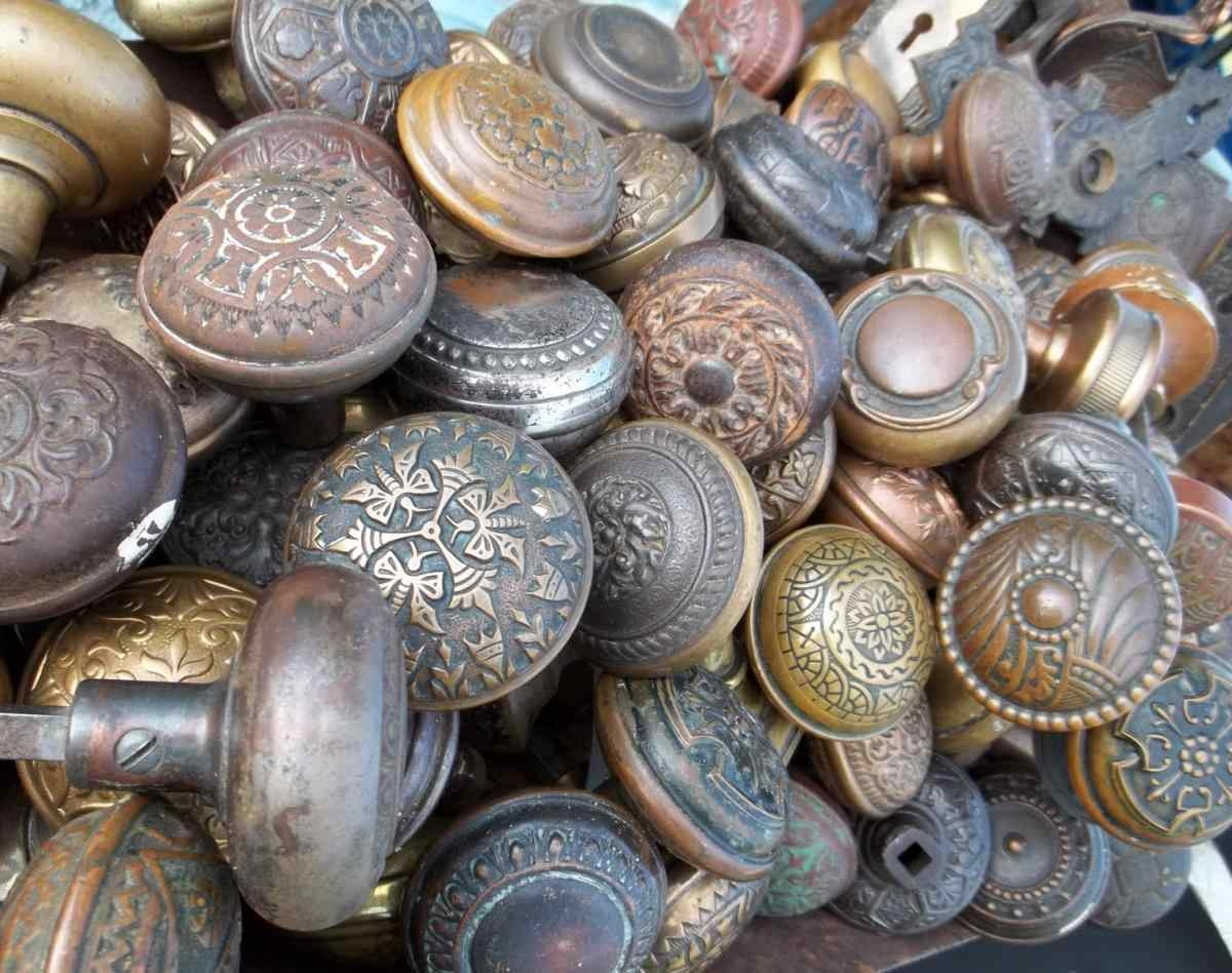 vintage door knobs cheap photo - 15