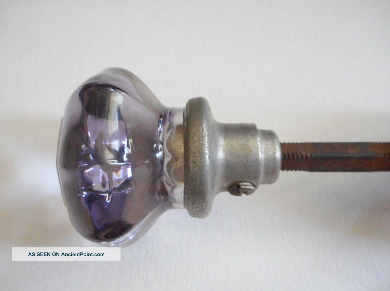 vintage glass door knobs photo - 12