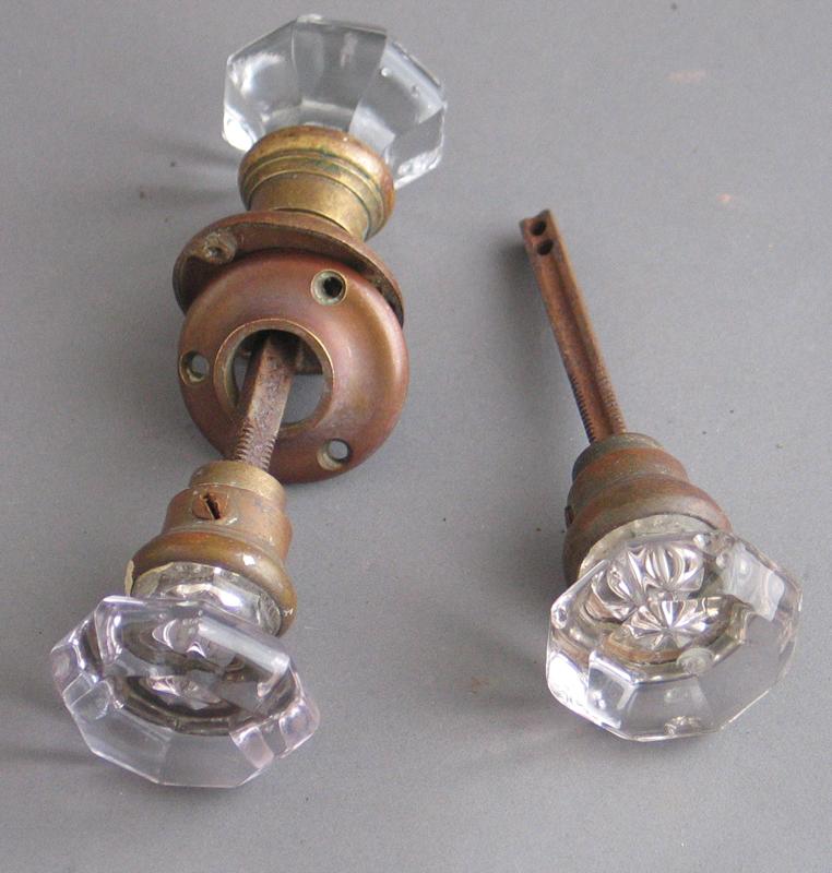 vintage glass door knobs photo - 8