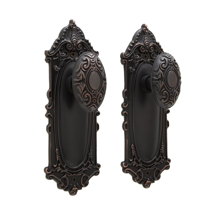 vintage style door knobs photo - 14