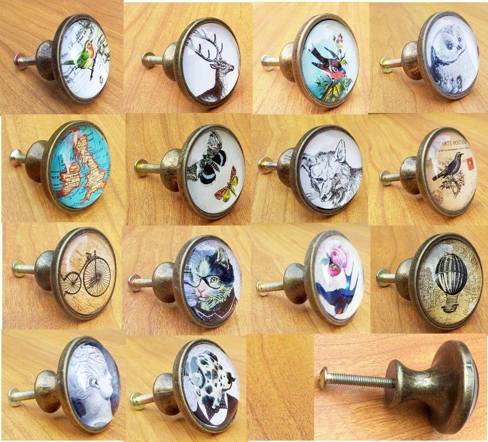 vintage style door knobs photo - 6