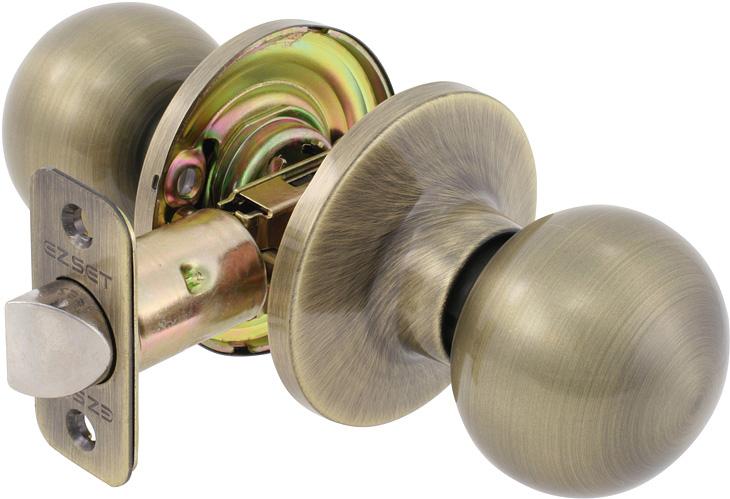 what is a passage door knob photo - 10