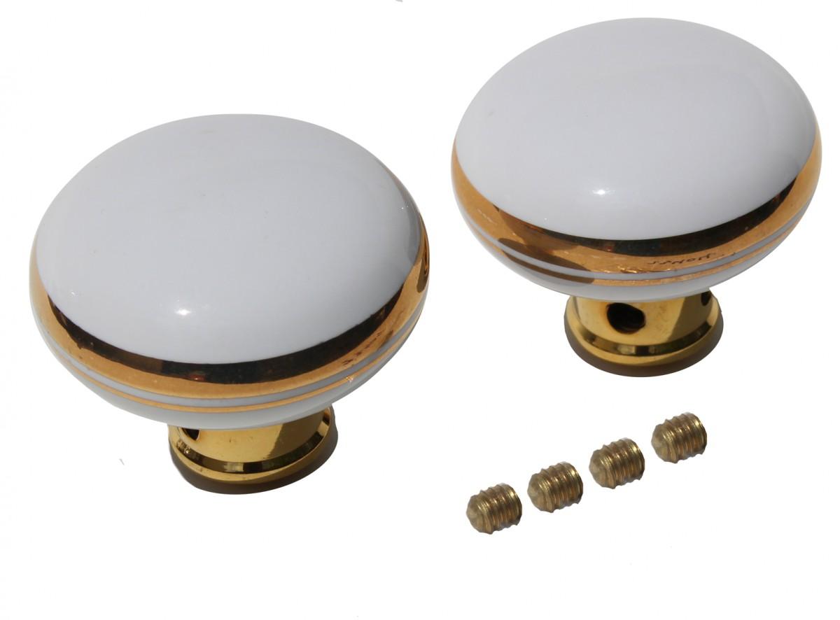 white door knobs photo - 11