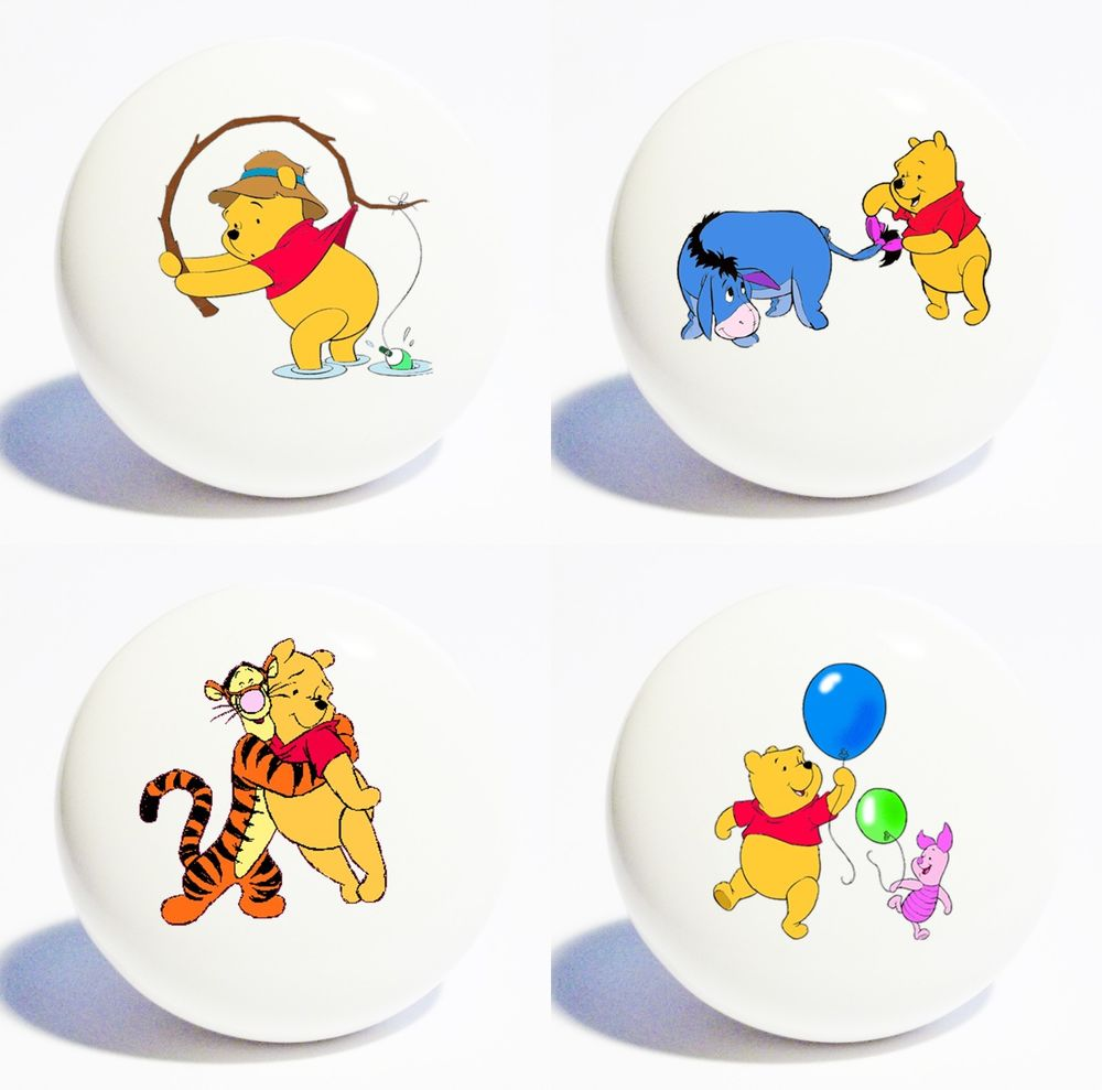 winnie the pooh door knobs photo - 5