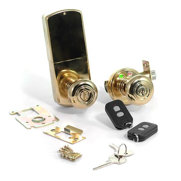 wireless door knob photo - 6