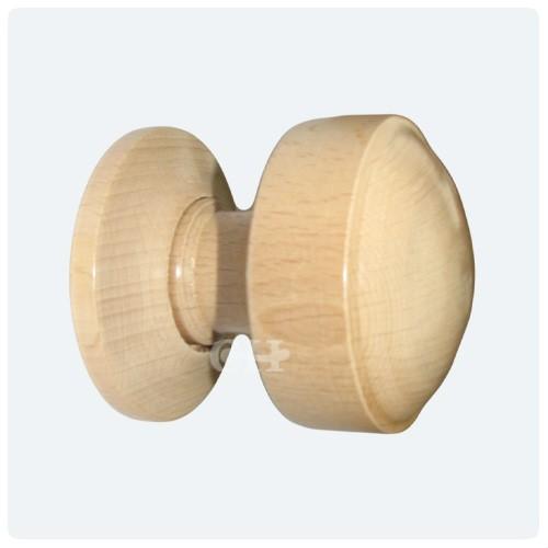 wooden door knob photo - 4