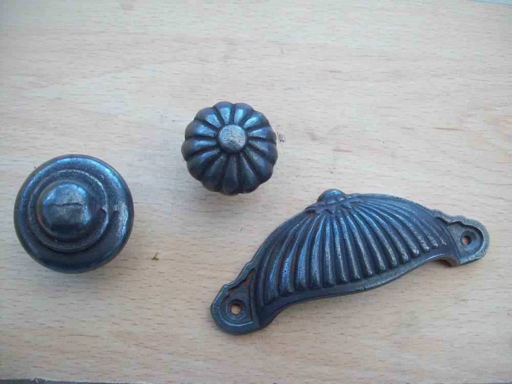 wrought iron door knob photo - 12