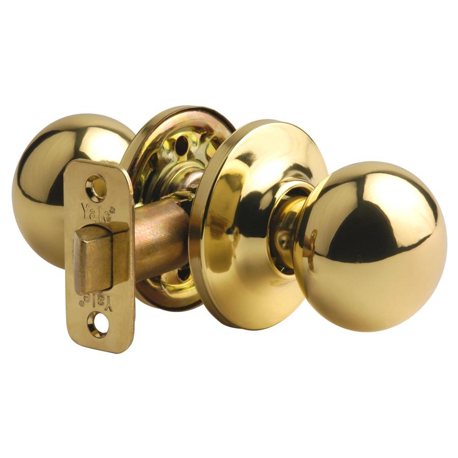 yale door knob photo - 6